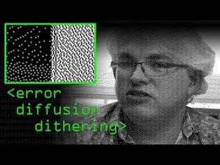 Error Diffusion Dithering - Computerphile