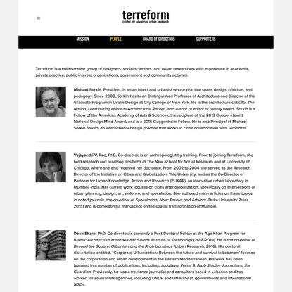 People — Terreform