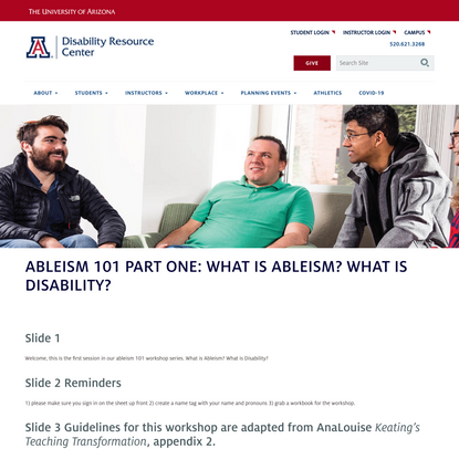 Ableism 101 Part One: What is Ableism? What is Disability? | Disability Resources