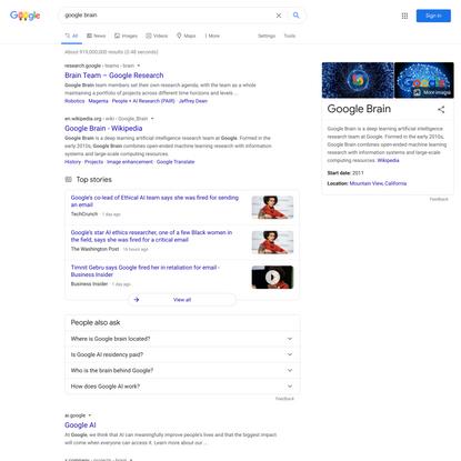 google brain - Google Search
