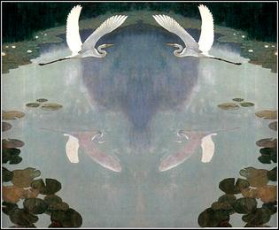 Herons in Summer, 1941