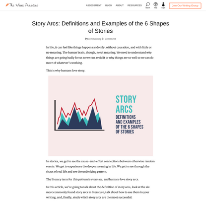 Story Arcs: Definitions and Examples of the 6 Shapes of Stories
