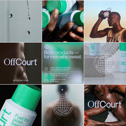 """🖼🖼🖼's Instagram photo: """"Excited to be bringing @offcourt_official into the real world today. Production c/o our buddies @was..."""