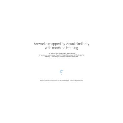 Google Arts & Culture Experiments - t-SNE Map Experiment