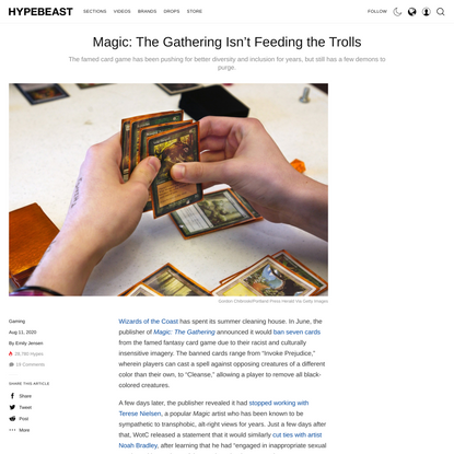 How Magic: The Gathering Is Addressing Diversity | HYPEBEAST