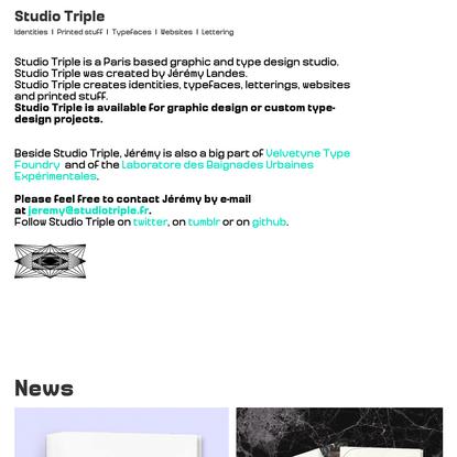 Studio Triple