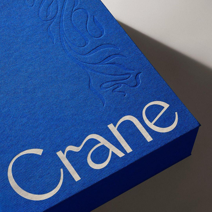 """Jacob Jan Wise on Instagram: """"Excited to finally reveal a logo commissioned last year by Collins for the Crane Paper Company..."""