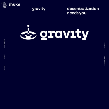 Identity and branding for Gravity — a blockchain-based financial platform