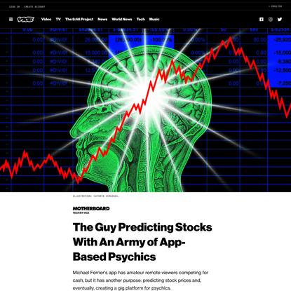 The Guy Predicting Stocks With An Army of App-Based Psychics