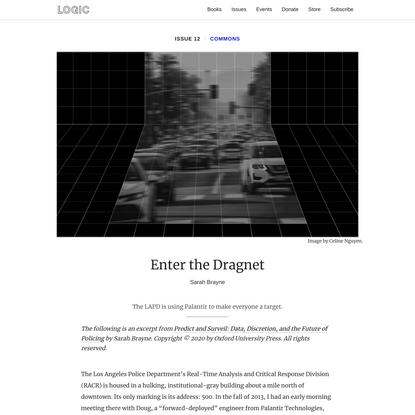 Enter the Dragnet