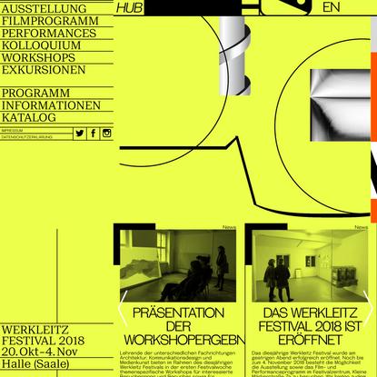 Holen und Bringen – Werkleitz Festival 2018