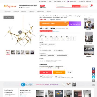 US $15.6 22% OFF Nordic Post Modern Dimmable Pendant Lamp Herringbone G9 Pendant Lamp Light Living Room Dining Room Luxury H...