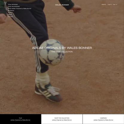 WALES BONNER | Official Website and Online Boutique