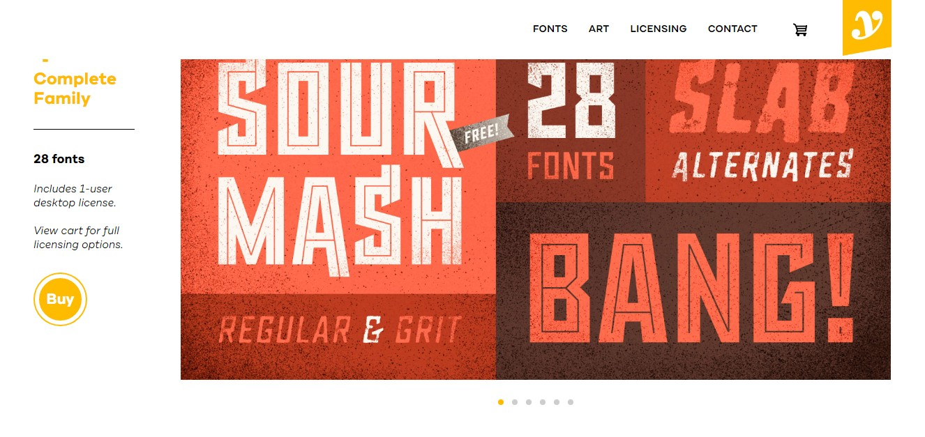Sour Mash Free Font Family