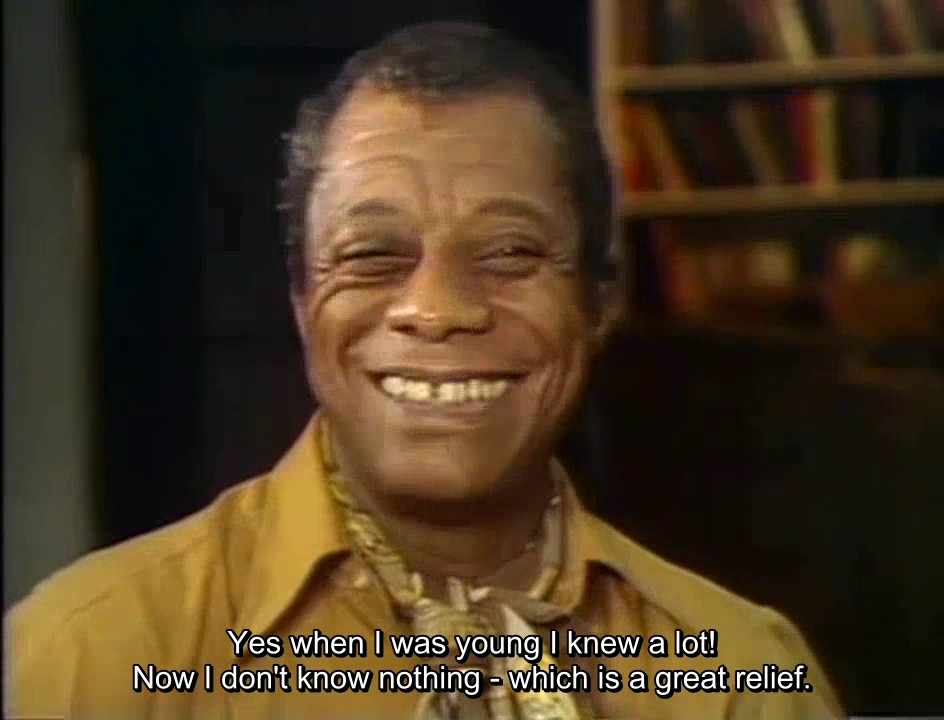 james baldwin quote in conversation with maya angelou