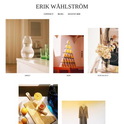 Erik Wåhlström