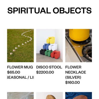 Spiritual Objects