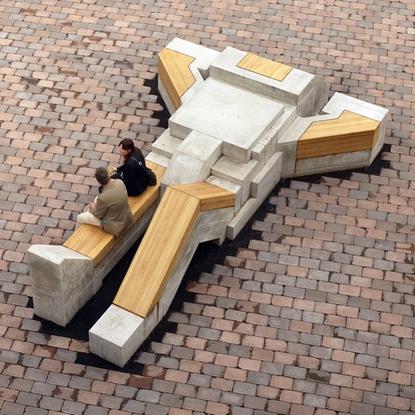 """Boris Tellegen on Instagram: """"TBW. 2011 for school in Enschede, NL. Concrete, oak."""""""