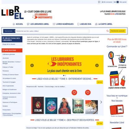 Librel.be - La plus grande librairie de Belgique
