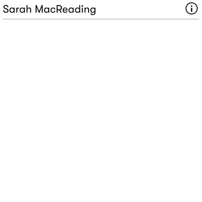 Heart-rate measurements — Sarah MacReading