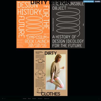 Marjanne van Helvert / DIRTY DESIGN