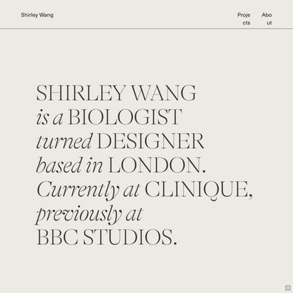 SHIRLEY WANG DESIGN