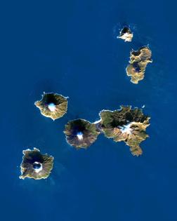 Bering Sea Islands, Alaska (Herbert Island, Carlisle Island, Chuginadak Island, Kagamil Island, Uliaga Island)