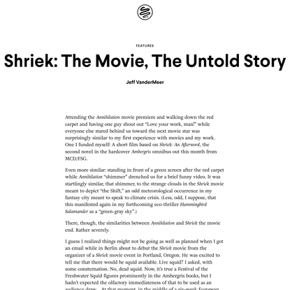 MCD | Shriek: The Movie, The Untold Story