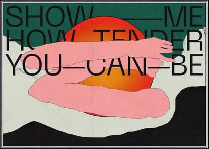 "Estefania Loret de Mola on Instagram: ""Show me how tender you can be. . . Font neue machine by @pangram.pangram . . . . .. ..."
