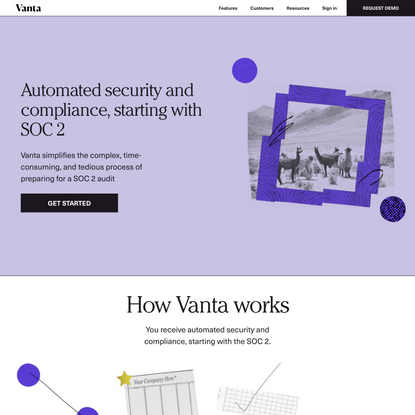 Automated security and compliance, starting with SOC 2