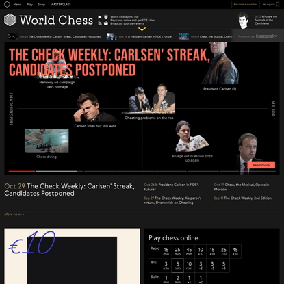 World Chess - Official FIDE Gaming Platform