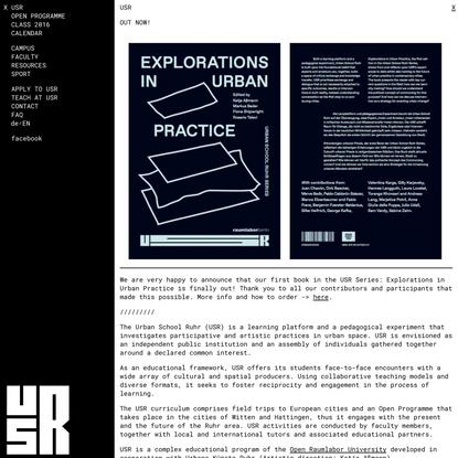 Urban School Ruhr