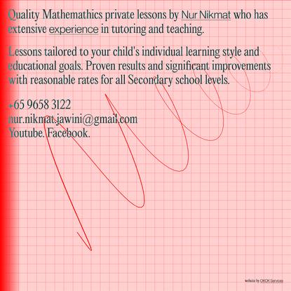 Nikmat Mathematics