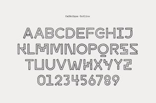 Cafézique Typeface — www.brunomsrodrigues.com