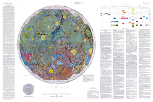 I-703 Geologic Map of the Near Side of the Moon