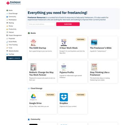 Freelancer Resources