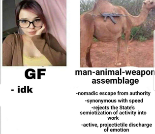 gf vs man-animal-weapon-assemblage