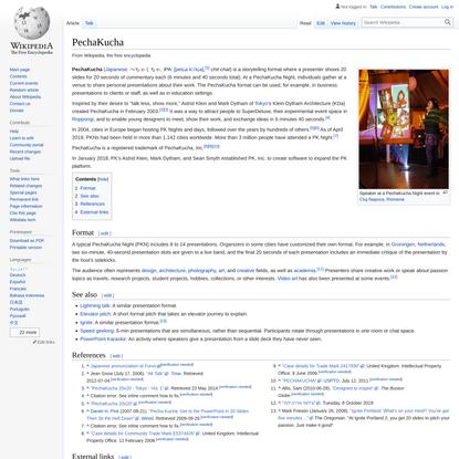 PechaKucha - Wikipedia