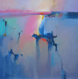 Peter Wileman - Repose, 91.5cm x 91.5cm