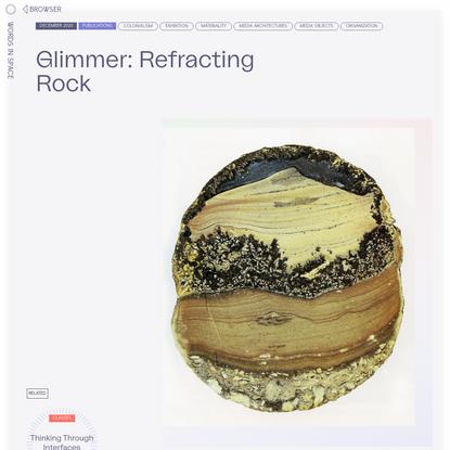 Glimmer: Refracting Rock