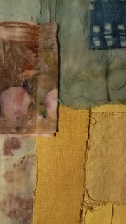 Hand-dyed compo