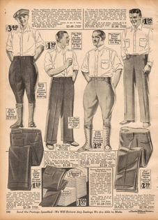1927 CWS Page 190 sport riding pants