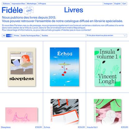 Livres Archives - Fidèle