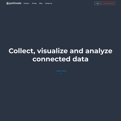 Polinode - Powerful Network Analysis in the Cloud