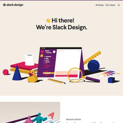 Slack Design