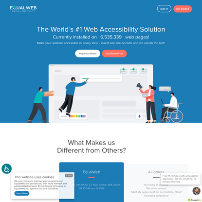 Web Accessibility Solutions - WCAG 2.1, Section 508 EqualWeb