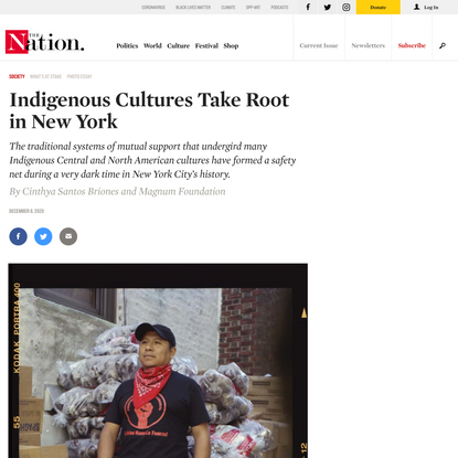 Indigenous Cultures Take Root in New York