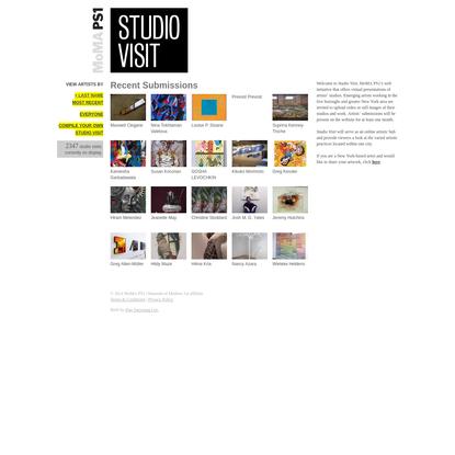 Studio Visit | P.S.1 Studio Visit