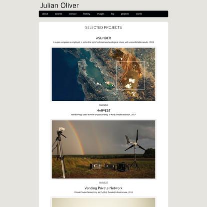 Julian Oliver