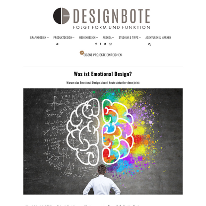 Was ist Emotional Design? - DESIGNBOTE